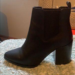 Windsor Smith black booties